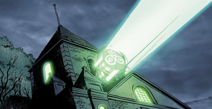 Doktor Sleepless (Ellis Avatar Comics) manor 666 logo searchlight