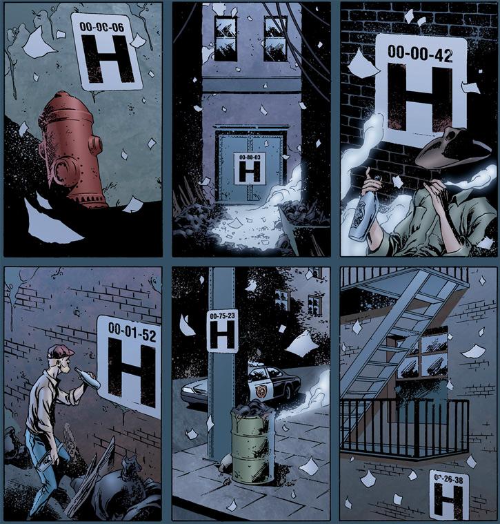 Doktor Sleepless (Ellis Avatar Comics) shelter entrances