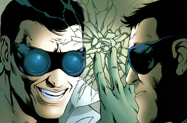 Doktor Sleepless (Ellis Avatar Comics) mirror abnormal reflection