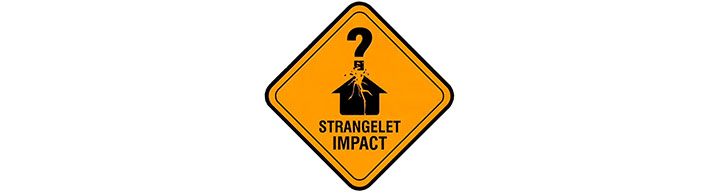Doktor Sleepless sign - strangelet impact