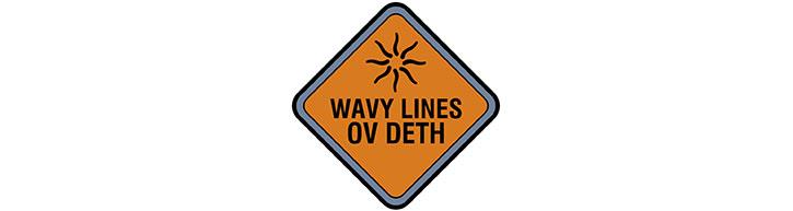 Doktor Sleepless sign - wavy lines of deth