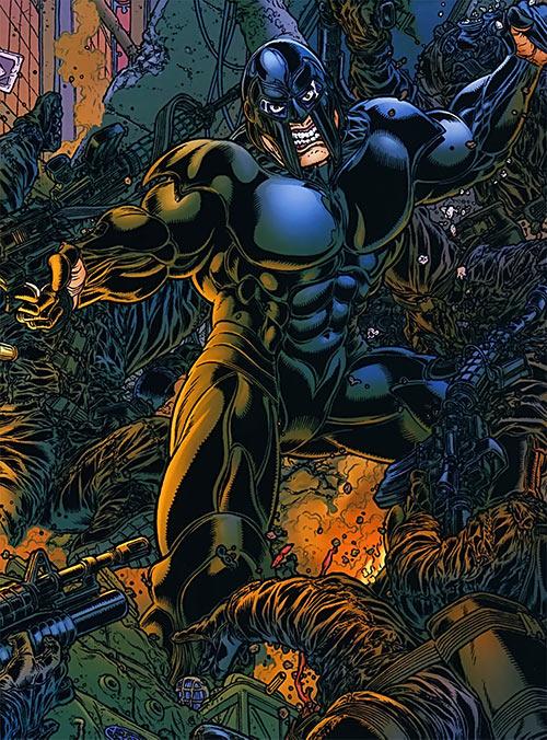 Dominic Atlas (Black Summer Avatar Comics) in combat