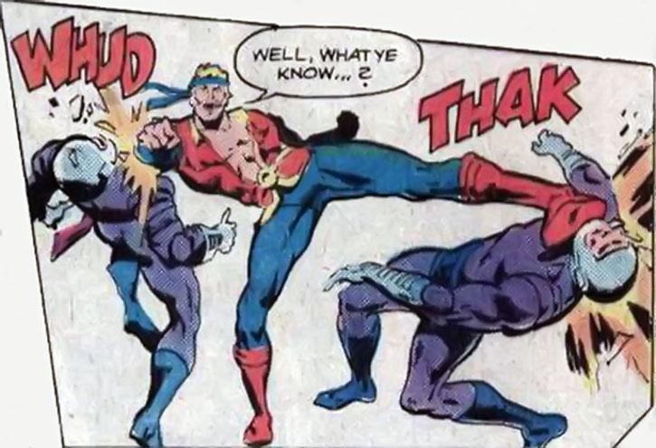 Donovan Flint, master of hand-to-hand combat