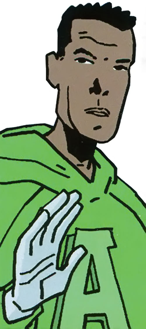 Doorman of the Great Lakes Avengers (Marvel Comics) out of costume