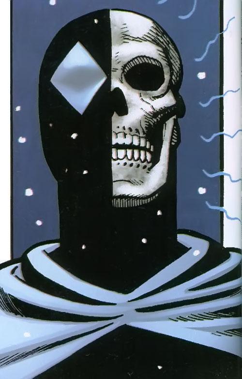 Doorman of the Great Lakes Avengers (Marvel Comics) skull sense tingling