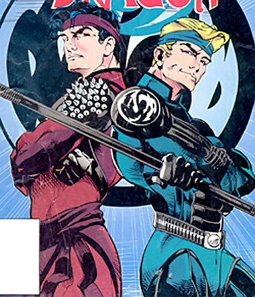 Double Dragon comic book art
