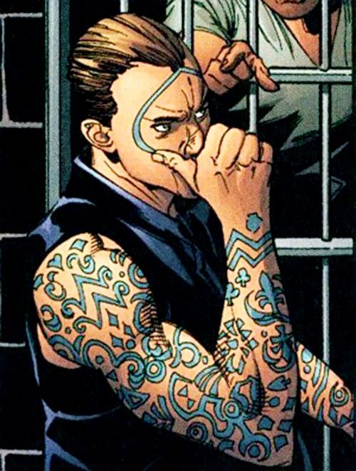 Doubledown (DC Comics villain) in prison