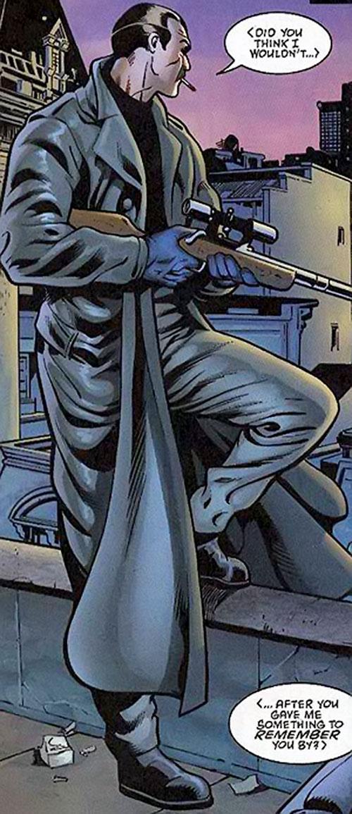 Dracul the Romanian hitman (Green Lantern enemy) (DC Comics)