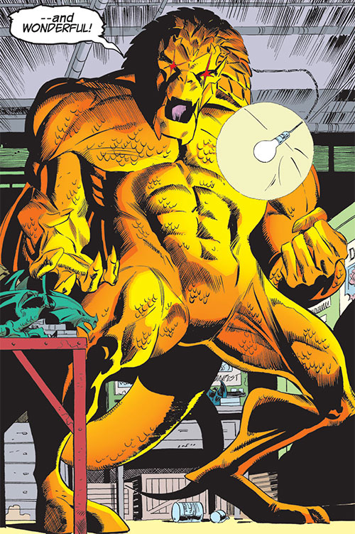 Dragon King (Spider-Girl enemy) (Marvel Comics MC2)