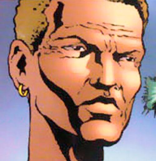 Drake (Elektra's sensei) (Marvel Comics) face closeup