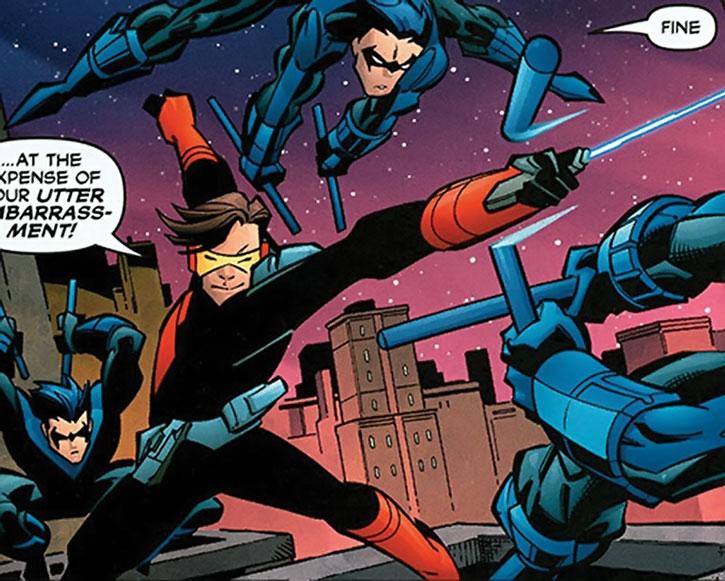Swashbuckler (Dreambound) vs. Nightwing