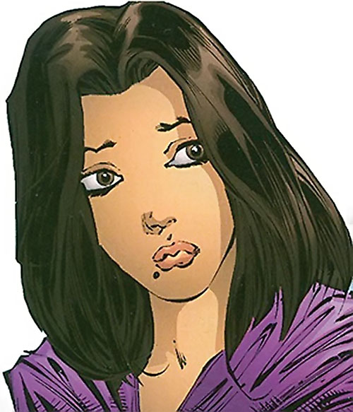 Dreamslayer of the Extremists (DC Comics) Louise Marino face closeup