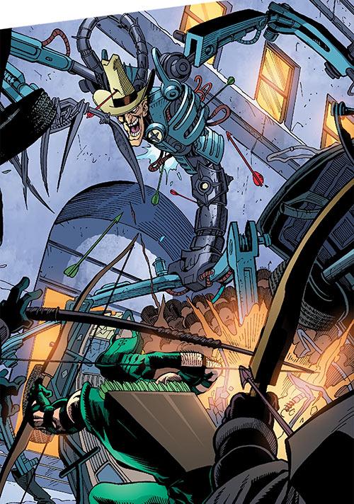 Duke of Oil (Outsiders enemy) (DC Comics) vs. Team Arrow