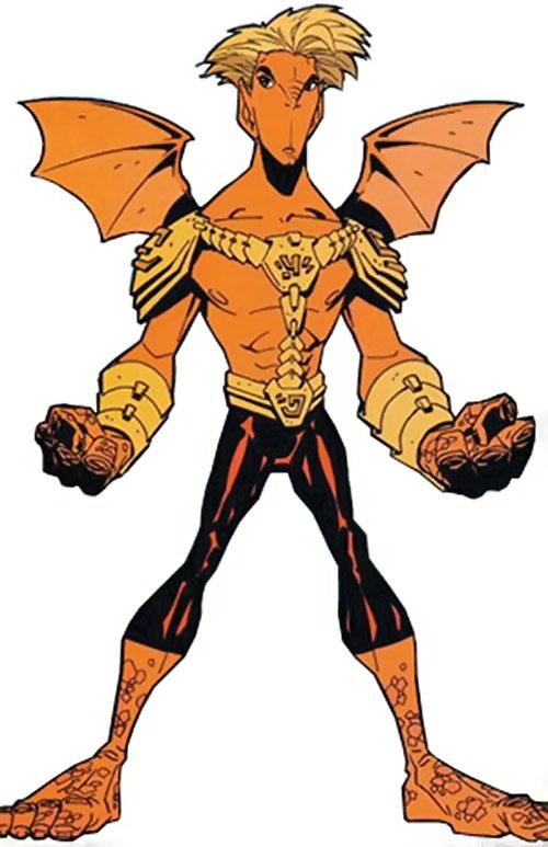Firebreather (Image Comics) - Duncan Rosenblatt in costume