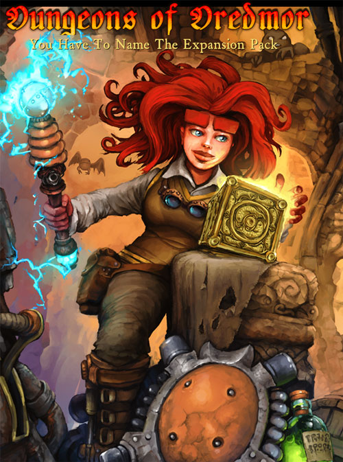 Dungeons of Dredmor female player character
