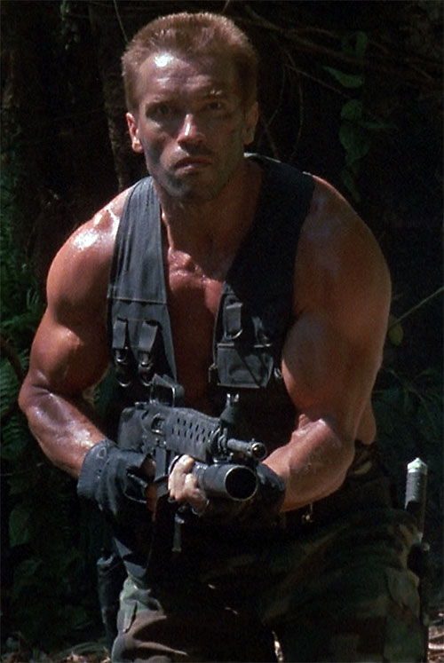 Predator Arnold Fight