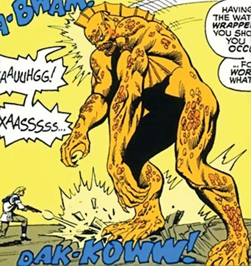Dweller from the Depths (Marvel Comics) vs. Bloodstone