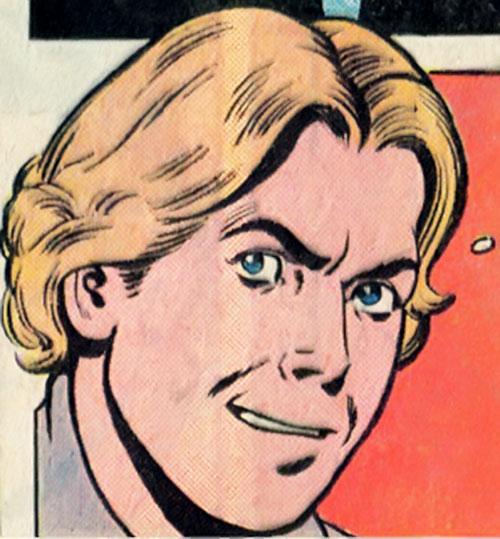 Dyna-Mind (Superboy enemy) (DC Comics) without his mask