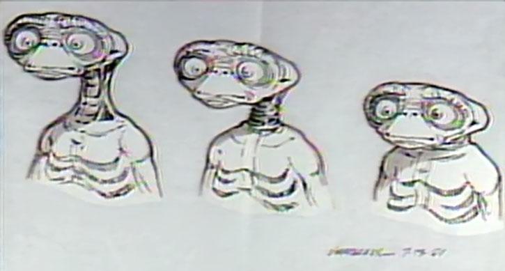 E.T. design sketch