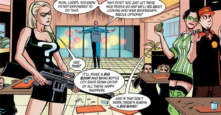 Query and Echo (Batman Ridder DC Comics) themed clothing