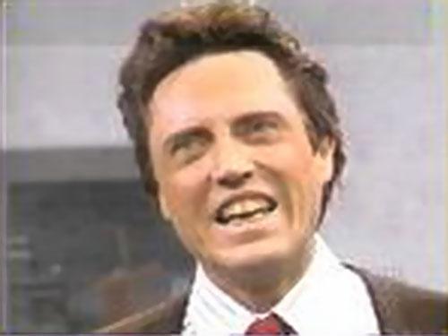 Christopher Walken as Ed Glosser the trivial psychic (SNL)