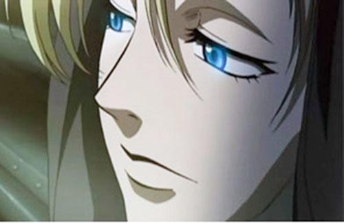 Eda (Black Lagoon) face closeup