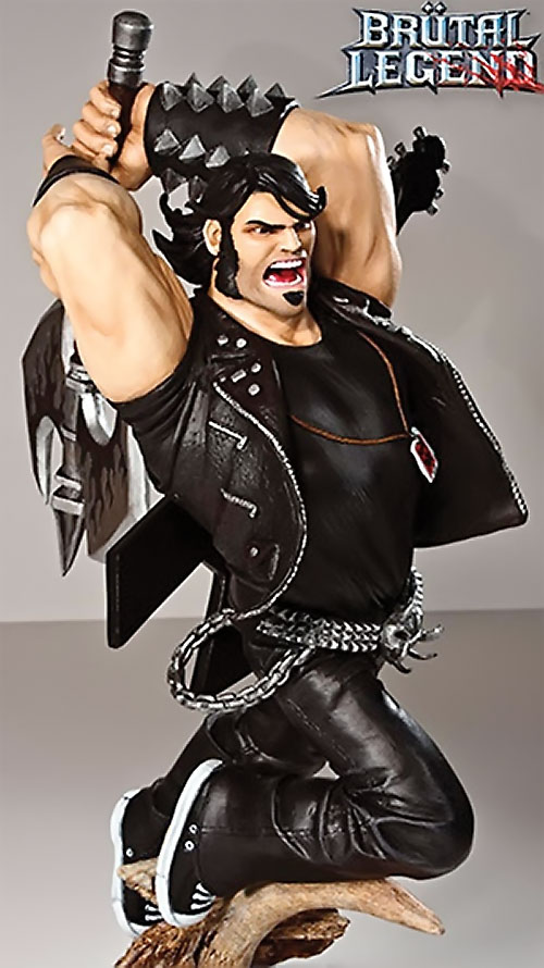Eddie Riggs (Brutal Legend video game) statuette