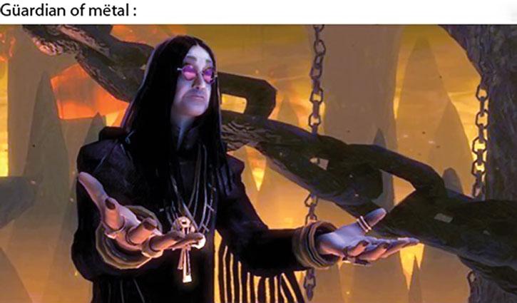 The Guardian of Metal in Brutal Legends