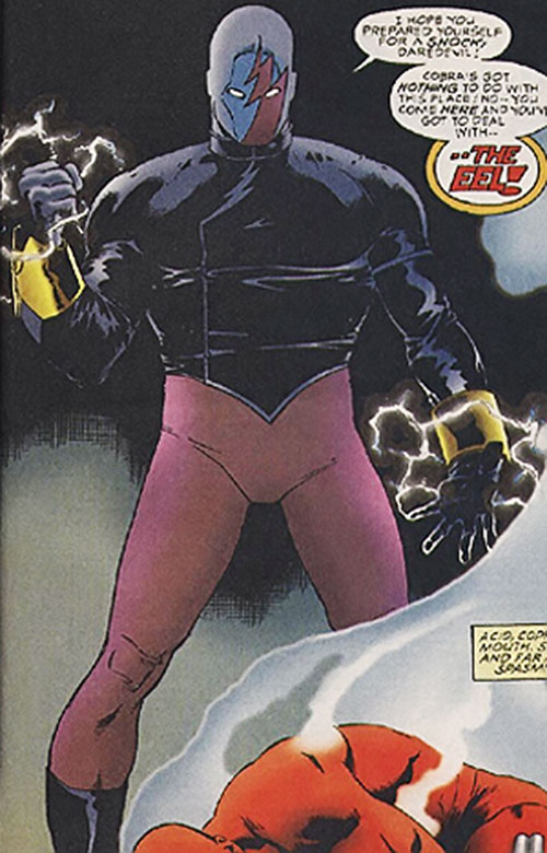 Eel (Lavell) (Marvel Comics) in his modern costume