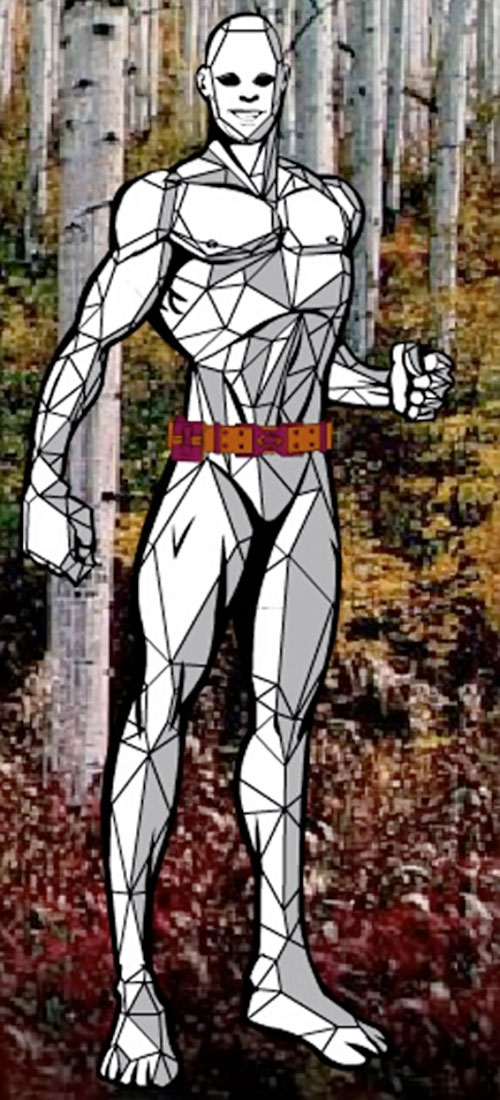 El Roc of Barcelona (DC Heroes RPG) with faceted body