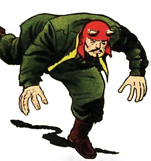 El Toro (Avengers enemy) (Marvel Comics) charging