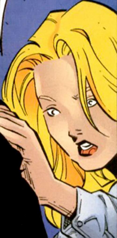 Elena Ivanovna (Maverick ally) (Marvel comics) worried face
