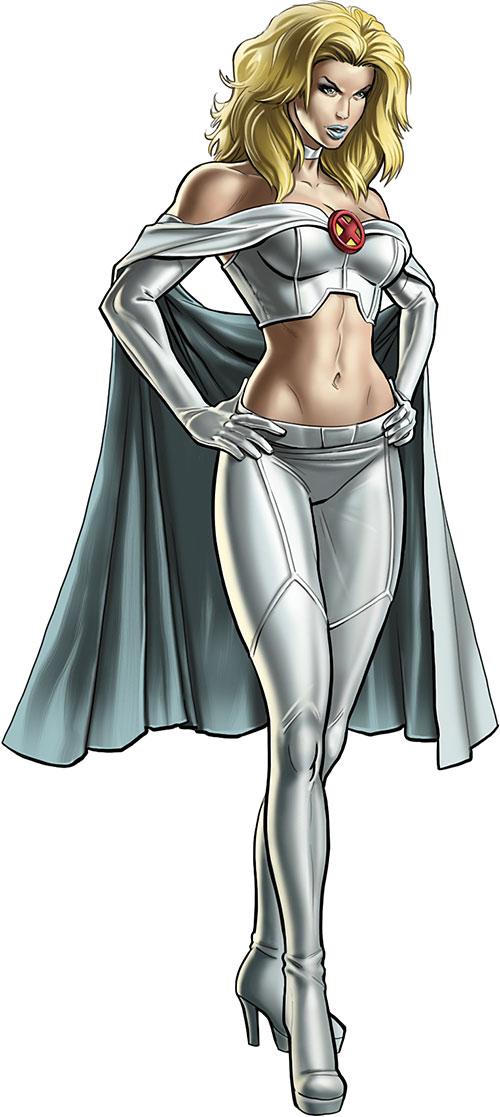 Emma Frost of the X-Men (Marvel Comics)