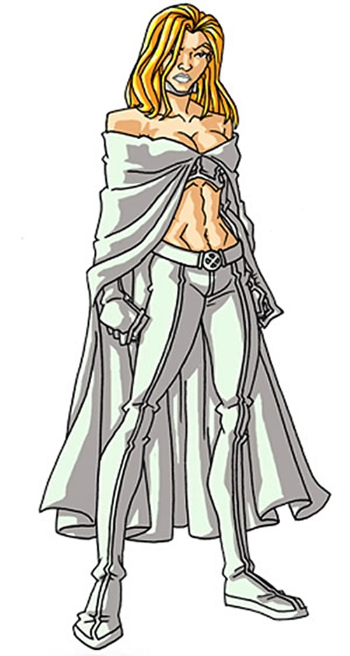 Emma Frost of the X-Men (Marvel Comics) by RonnieThunderbolts