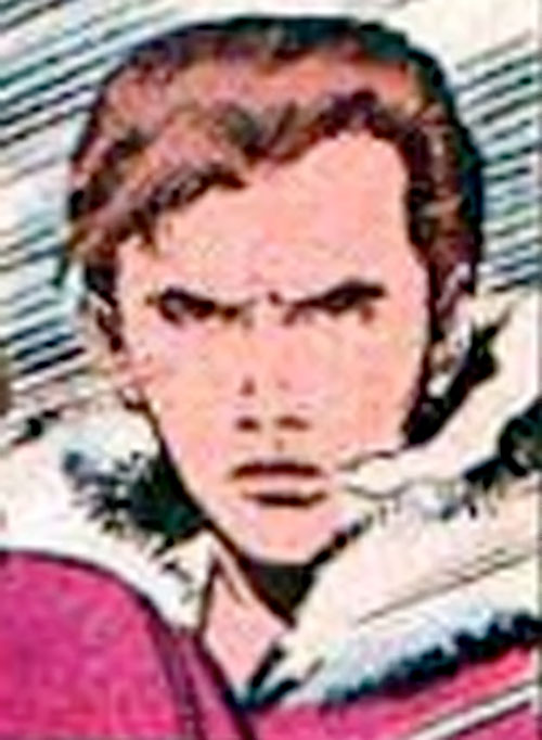 Empath of the Hellions (Marvel Comics) closeup in a parka