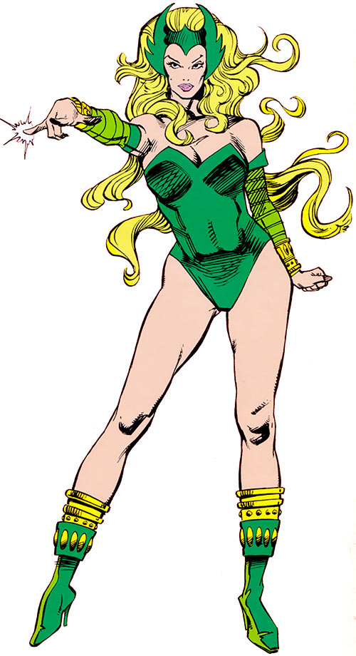 Enchantress (Thor enemy) (Marvel Comics) (Early) by Art Adams