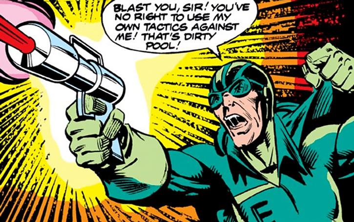 Endotherm fires his pistol
