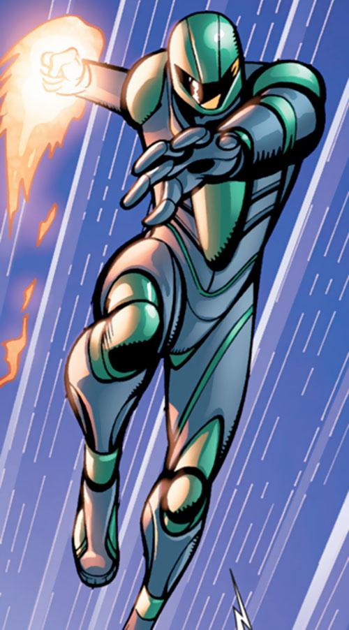 Endotherm (Iron Man enemy) (Marvel Comics) modern version of suit