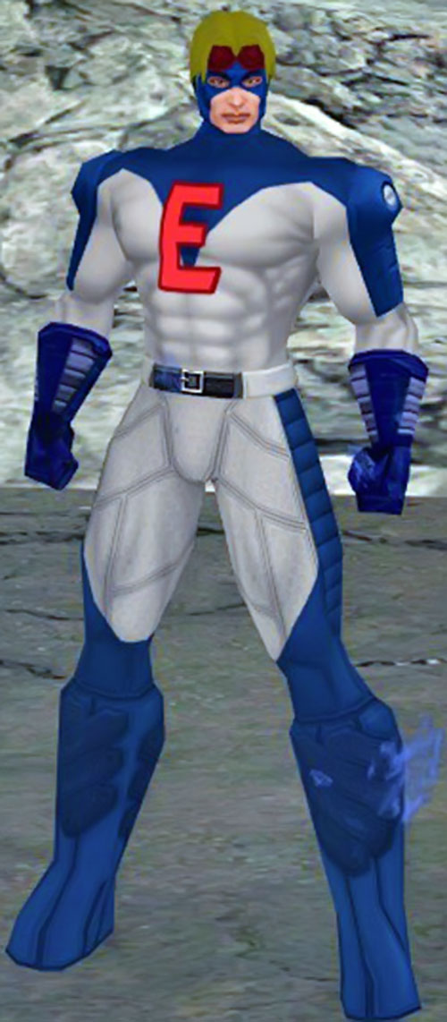 Enforcer (DC Heroes RPG) City of Heroes rendition