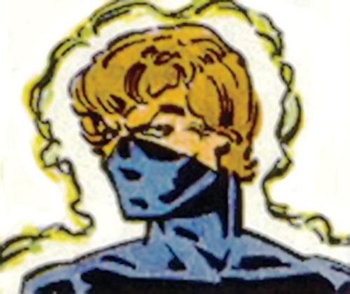 Enforcer (Villains & Vigilantes RPG) (Crisis at the Crusaders Citadel) color face closeup