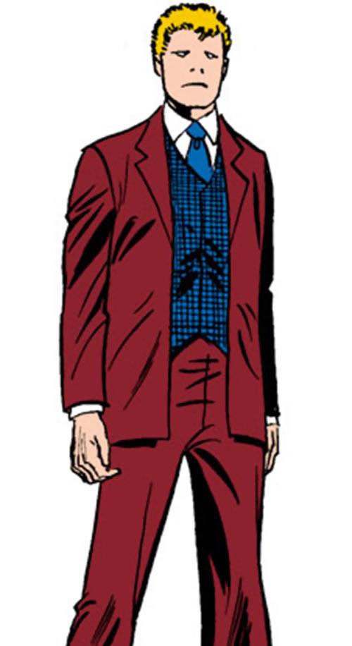 Every-Man aka Everyman - Marvel Comics - Larry Ekler - Absorbascann - standing