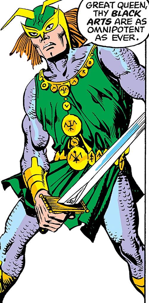 Excaliber (Marvel Comics) (Spider-Woman enemy)