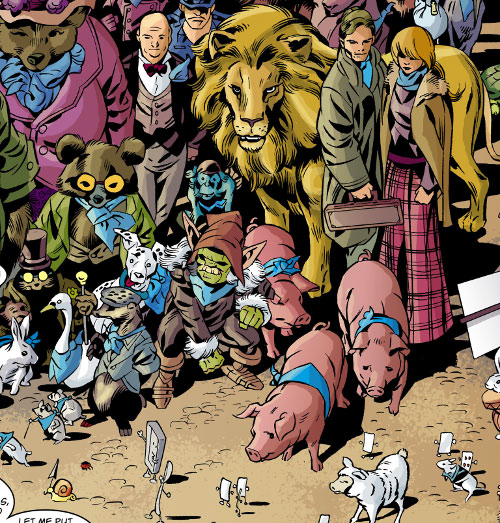Fabletown (Fables DC Comics) Fables at the Farm