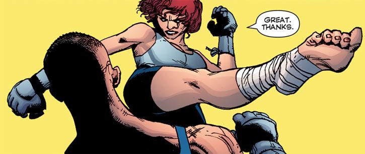 Fahrenheit (StormWatch PHD) (Wildstorm comics) kickboxing