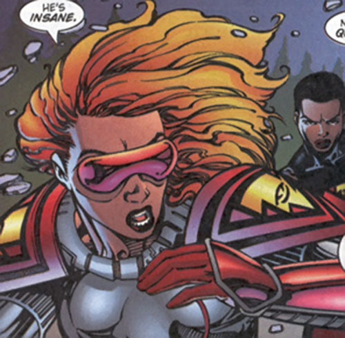 Fahrenheit (Stormwatch) (Wildstorm Comics) closeup