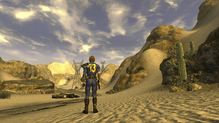 Fallout 1 story mod - vault 13 dweller in the desert