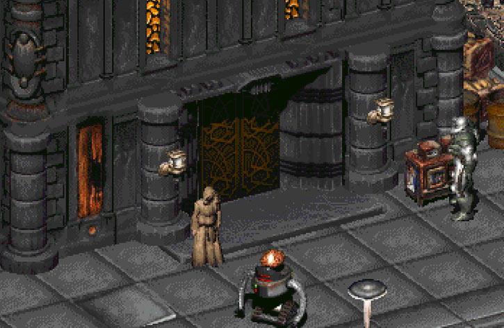 Fallout 2 abbey entrance