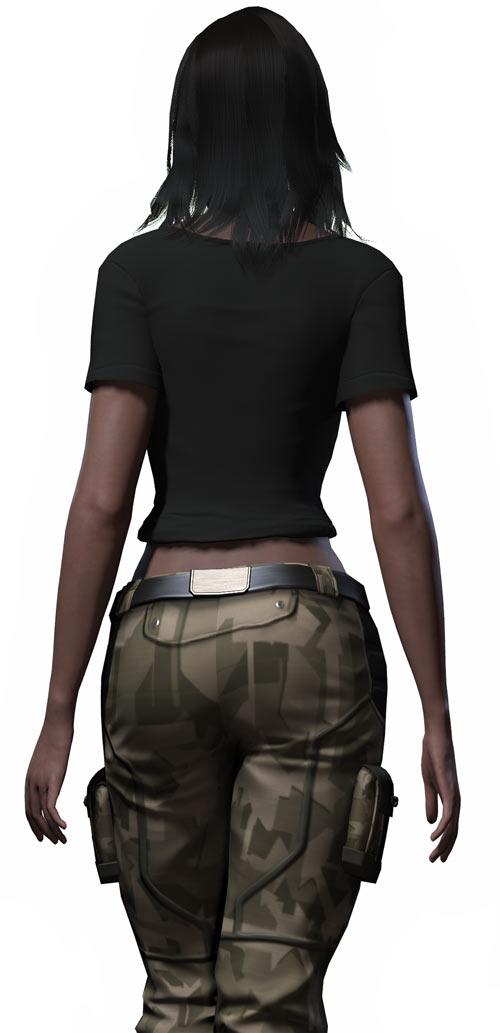Alessandra Maria Fallout 2 rear view