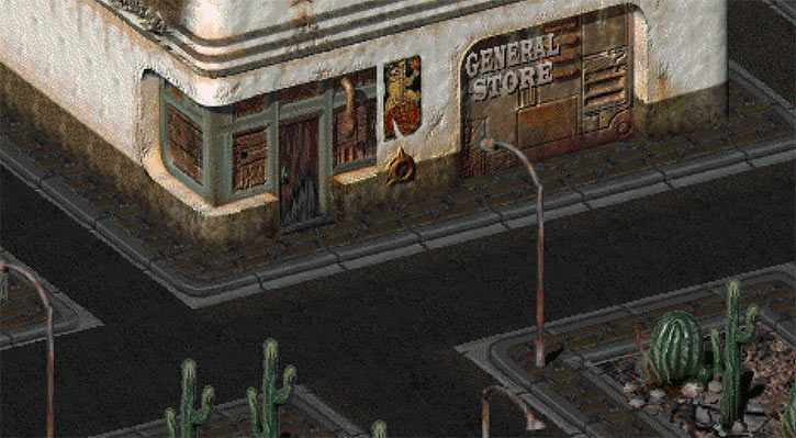 Broken Hills in Fallout 2 (detail)