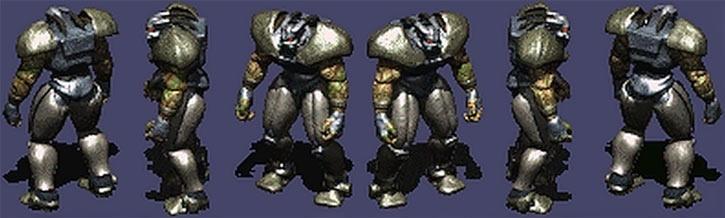 Fallout 2 - Frank Horrigan character model rotation